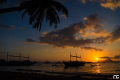 El Nido, Palawan (Allan Canare) Tags: sunset elnido palawan philippines boat silhouette beach dawn