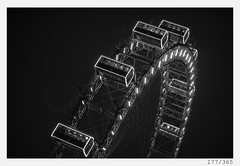 Wiener Prater (Alja Ani Tuna) Tags: 177 177365 365 wien wiener prater eye round circle tourist big photo365 project365 panorama panoramicview view 35mm 365challenge 365project white city capital monocrome monochrome onephotoaday onceaday sterreich austria d800 dailyphoto day night lights bw blackandwhite black blackwhite beautiful nikond800 nikkor nikkor85mm nice 85mmf18 f18