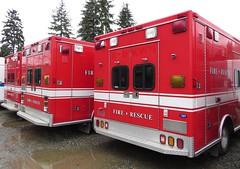 Redmond Fire 7022 (zargoman) Tags: ambulance aidcar emergency response ford truck northstar medic aid