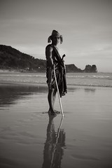 Sumba Warrior (MrCrisp) Tags: nihiwatu sumba indonesia traditional blackwhite blackandwhite beach portrait portraiture flickrtravelaward