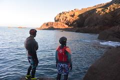 Coasteering in Jersey (Jersey Sea Kayaking) Tags: coasteering jersey les landes