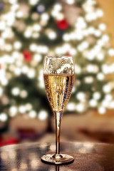 (katiegodowski_photography) Tags: champange drinks alcohol wine christmas holidays lights creative dslr canon amateurs amateur bokeh