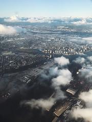 (anastasiiaorlovych) Tags: nature beautiful columbia british bc shot iphone travel clouds blue view sky flight vancouver