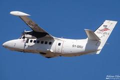 Air Libya --- Let L-410 Turbolet --- 5Y-BRU (Drinu C) Tags: adrianciliaphotography sony dsc hx100v mla lmml plane aircraft aviation airlibya let l410 turbolet 5ybru