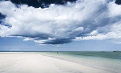 Cloud Base (Bruus UK) Tags: stives hayle estuary clouds sky cornwall sea atlantic ocean beach sand river godrevy water marine seascape coast ripples deserted alone vastness empty space weather