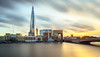 Needle in the sky (Thierry Hudsyn) Tags: sony a6000 sel1018 london londres theshard londonbridgehospital longexposure poselongue sunset couchédesoleil