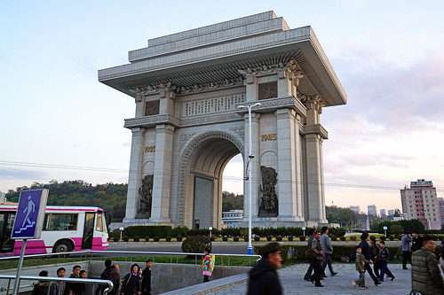Pyongyang Arch of Triumph, North Korea