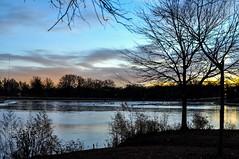 Morning Blues (Lojones13) Tags: sky clouds morning blue twilight outdoor newjersey park silhouette