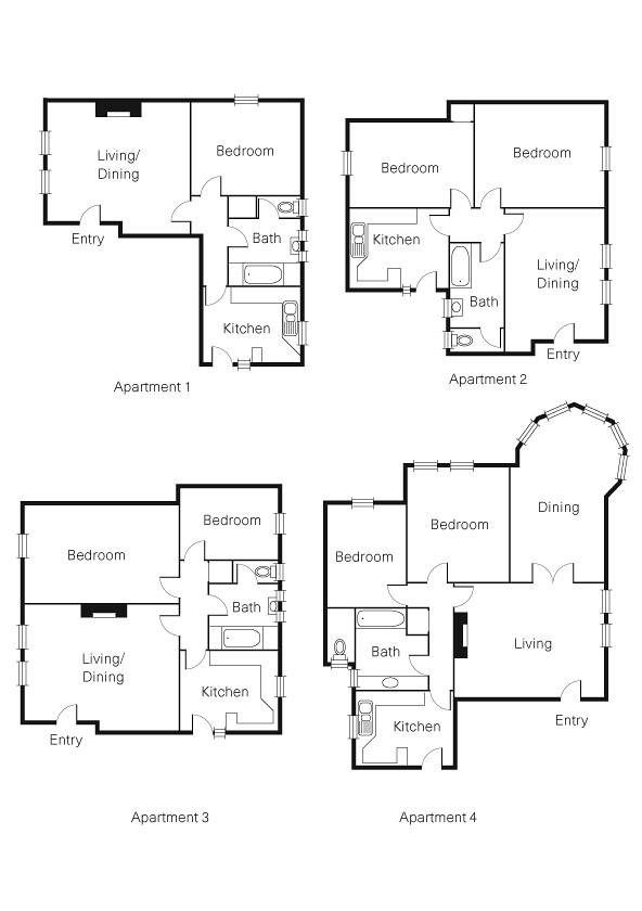Property Floorplan Of 1 13 22 Upper Esplanade St Kilda Vic 3182 Ozpropertydata Com