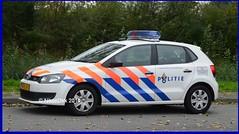 Dutch Police Polo LE. (NikonDirk) Tags: vw volkswagen foto police rail railway le infrastructure polo infra spoor korps politie landelijke spoorweg eenheid klpd diensten hulpverlening politiediensten nikondirk 70klv7
