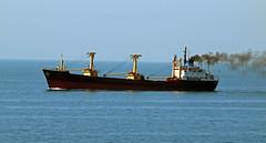 Kazan (PhillMono) Tags: cruise turkey boat ship vessel olympus cargo steam bosphorus underway e30 freighter kazan