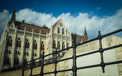Parliament from below (kimbar/Thanks for 2 million views!) Tags: hungary budapest parliament