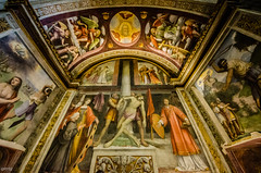 San Maurizio - Cappella Besozzi (Rebel Yell 82nd) Tags: italy milan church painting nikon italia milano paintings sigma wideangle chiesa sanmaurizio cappella corsomagenta besozzi 816mm d7000
