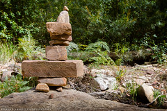 Cairn, Grampians National Park Australia (Robert Lang Photography) Tags: vacation holiday color colour forest australia victoria rob aussie cairn familyvacation robertlang aussieholiday grampiansnationalparkaustralia wwwrobertlangcomau
