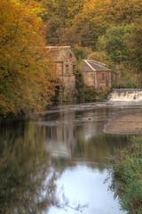 Autumn Mill [Explore #88] (Unh@ppyb@st@rd) Tags: uk autumn mill scotland glasgow pollokpark