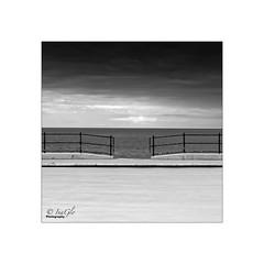Far Horizon (digitalfailure) Tags: sea white black canon photography woods brian scape llandudno 5dmk3 inaglo