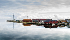 Thorsminde, DK (Klummen) Tags: reflection port denmark boat fishing cloudy harbour jylland sigma1224 thorsminde fishingwharf hansekratholmrasmussen nikond7000