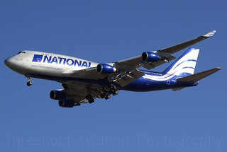 N919CA | Boeing 747-428M(BCF) | National Airlines Cargo | KORD