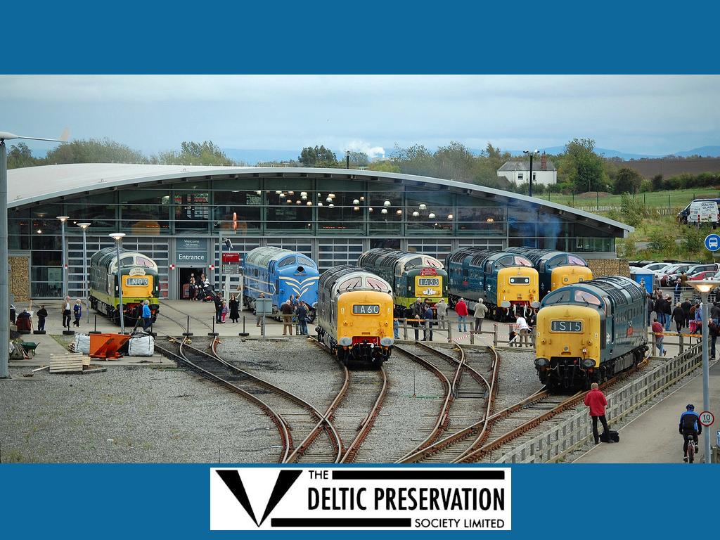 Por que os trens ingleses/britânicos tem pinturas amarelas na frente da cabine ? 15242267720_010c63529e_b