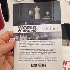 "Changing the world one paper bead at a time.. A wonderful cause @i_am_justone http://IAmJustOne.ca #BlissDomCA • <a style=""font-size:0.8em;"" href=""http://www.flickr.com/photos/10624169@N08/15242533959/"" target=""_blank"">View on Flickr</a>"