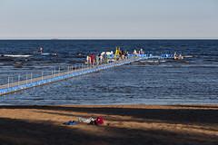 028A3631 (Byskan) Tags: sea summer river coast sweden july baltic resort sverige juli hav sommar kust havsbad byske byskelven bottenhavet byskanse byskan