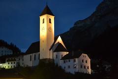 Summer night (hcorper) Tags: light italy church night nikon village d3100