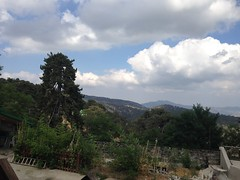 View from top at Troodos