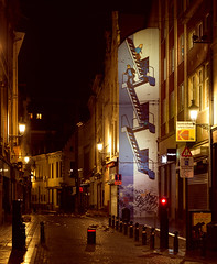 Tintin (SagarMohanty) Tags: brussels comics alley comic snowy haus strip belgian tintin herge capthaddock