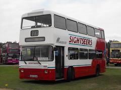 Leyland Atlantean, WWM 924W @ Showbus 2014 (Andy Reeve-Smith) Tags: duxford cambridgeshire willowbrook leyland imperialwarmuseum 2014 iwm showbus atlantean merseysidepte showbus2014