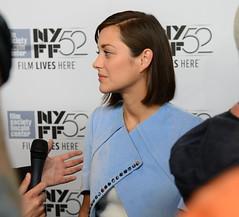 Marion Cotillard at NYFF52 ([Yifu]ography) Tags: nyc newyork celebrity film beauty movie nikon lincolncenter filmfestival redcarpet d800 nyff alicetullyhall frenchactress marioncotillard nyff52