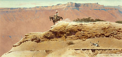 When the Tracks Ran Out by Robert McGinnis (Tom Simpson) Tags: illustration vintage landscape cowboy western robertmcginnis