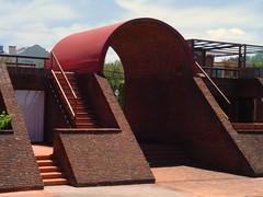 Terrazas de Manantiales (Calovi) Tags: brick ladrillo public architecture uruguay stair treppe escalera punta scala escada barra escalier tijolo uy manantiales publik calovi whatuseeiswhatiget justojossolsona publikoeffnen