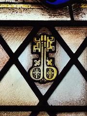 Hope, Derbyshire (Oxfordshire Churches) Tags: uk england keys hope unitedkingdom derbyshire churches stainedglass panasonic anglican cofe churchofengland mft listedbuildings gradeilisted stpeterskeys johnward micro43 microfourthirds lumixgh3