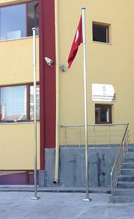 Sonsuz dönerli bayrak direği