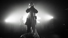 Asking Alexandria (Brian Krijgsman) Tags: england blackandwhite bw music holland english film netherlands amsterdam metal musicians photography concert nikon europe european tour photos live grain band heavymetal british zwart wit genre melkweg 2014 d4 themax iso12800 benbruce askingalexandria briankrijgsman jamescassells dannyworsnop cameronliddell sambettley fromdeathtodestiny