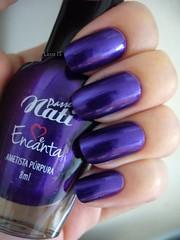 Ametista Prpura (Passe Nati) (lissa_is) Tags: purple nail nailpolish esmalte meencanta passenati ametistaprpura