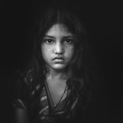 Faces ! (Karthi KN Raveendiran) Tags: portrait girl face look angel portraits sad faces indian angelic cwc indianchild indiankid karthikn chennaiweekendclikers karthiknraveendiran