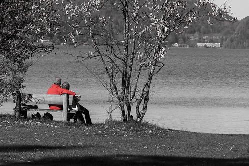 Am See liegt die Ruhe