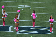 2014 Seahawks vs. Dallas Cowboys game (NBWaller) Tags: seattle cowboys football cheerleaders nfl seahawks seattleseahawks fans seagals nationalfootballleague dallas centurylinkfield