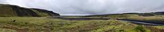 Slheimajkull road to 1 (Bilderschreiber) Tags: road panorama black green island iceland moss strasse glacier lonely grn gletscher eis schwarz tundra moos einsam slheimajkull