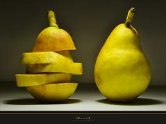 Pear2 (aniribe) Tags: color yellow fruit nikon creative pear