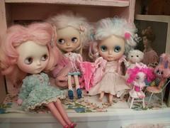 Pink-a-licious Monday!!! (simplychictiques) Tags: pink toys mercedes happiness velvet blythe antiques shabbychic pinkhairs mohairs pinkalicious chantillylace vintagedolldress pollysweaters candyhairs violetpiedolly blytheinpink ooakcustomizedblythedolls paradismonocommecacustomblythe atomicblythecustomwithsleepingelfwig antiquedollcabinet baby~marie mcccustom anniedollzcoat tattybonbonpumpkinbellebunny violetpieshrewfloxy blythedollsinpink jodiedollscustomwithrainbowmohairskinnyscalp charlottelefleurscustomwithpariszhenpinkwoolreroot sweetpetiteshoppelamb someofmypinkgirls
