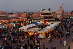 Jamaa El fna square (Authentic Sahara Tours) Tags: morocco marrakech attractions placejemaaelfna