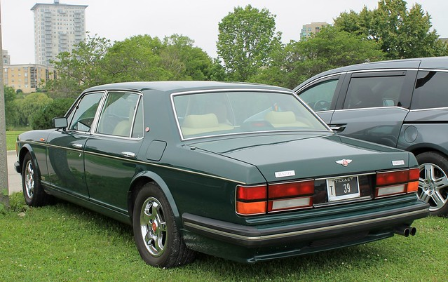green classic car sedan exotic turbo luxury bentley rl
