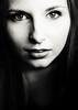 Mi-saison (Christine Lebrasseur) Tags: portrait people blackandwhite woman france art canon teenager fr onblack gironde léane saintloubes allrightsreservedchristinelebrasseur