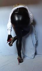 4 (read my Profile before anything!!!!!) Tags: high buffalo highheels leo plateau skirt heels corsage leggings stilettos