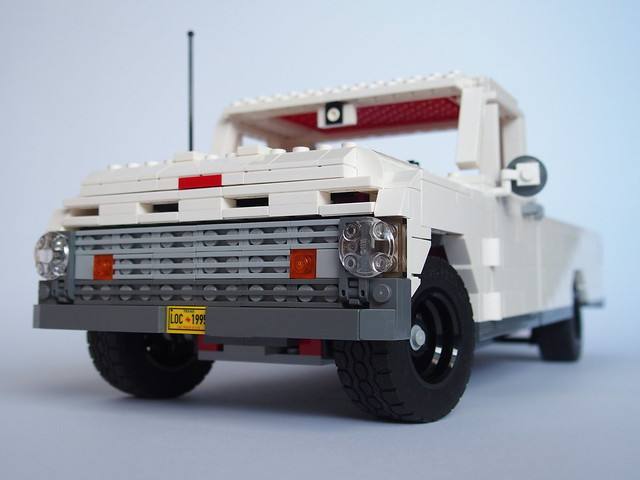 white classic ford truck lego awesome f100 american v8 1964 lugnuts ford4lyf