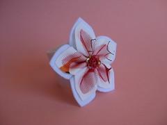 Napkin Holder (ONE by one) Tags: white flower handmade fuxico 2014 napkinholders onebyone