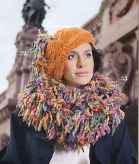 Punto Con Style 6_07 (Homair) Tags: wool hat scarf fuzzy combo puntoconstyle