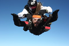 Geronimo (kallyone) Tags: blue sky skydiving fly flying michigan tags falling skydiver freefall noclouds freefalling onaclearday stillwithme 135k puremichigan